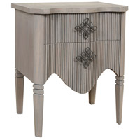 Guildmaster 6418007 The Vinyard 30 X 26 inch Henna Mahogany Side Table