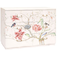 Florence Indian White with Hand-painted Art Chest