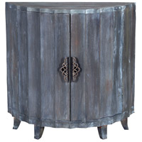 Manor 34 X 12 inch Antique Smoke Demilune