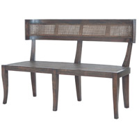 Country Heritage Dark Grey Stain with no distress Bench