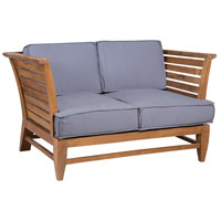 Galveston Pier Euro Teak Oil Outdoor Love Seat