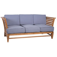 Galveston Pier Euro Teak Oil Outdoor Sofa