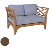 Patio Branch Burnt Umber Outdoor Love Seat