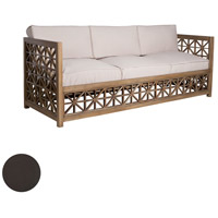 Vincent Lattice Antique Smoke Outdoor Sofa