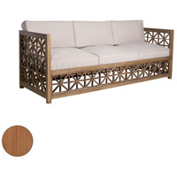 Vincent Lattice Euro Teak Oil Outdoor Sofa