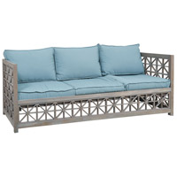 Vincent Lattice Henna Teak Outdoor Sofa