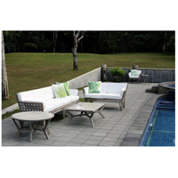 Guildmaster 6518004HT Newport Henna Teak Outdoor Sofa, 4-Seat alternative photo thumbnail