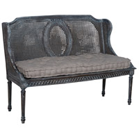 Heritage Gray Bench Home Decor