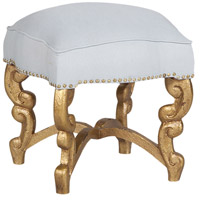 GuildMaster Somerset Ottoman in Gold 653009