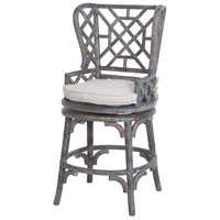 Guildmaster 6616004 Bamboo 45 inch Heritage Grey Stain with Light Distress Wingback Counterstool