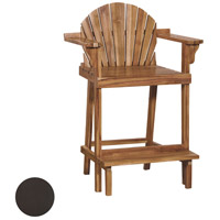 Lifeguard 40 inch Antique Smoke Outdoor Counter Stool