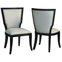Elegance Grain De Bois Noir Chair, Set of 2