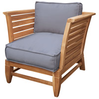 Guildmaster 6917002ET Teak Slat Euro Teak Oil Outdoor Patio Chair