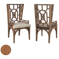 Teak Euro Teak Oil Outdoor Wing Back Chair