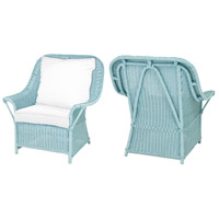 Signature Aqua Marine Outdoor Patio Chair