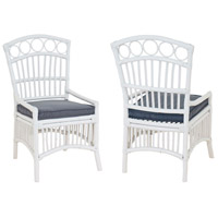 Guildmaster 6917007P Signature White Outdoor Veranda Chair Home Decor