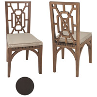 Teak Garden Antique Smoke Outdoor Dining Chair