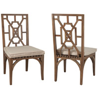 Teak Patio Burnt Umber Outdoor Dining Chair
