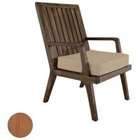 Guildmaster 6917011ET Teak Euro Teak Oil Outdoor Arm Chair