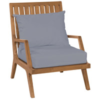 Guildmaster 6917013ET Teak Patio Euro Teak Oil Outdoor Lounge Chair