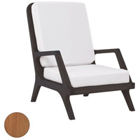 Teak Garden Euro Teak Oil Outdoor Lounge Chair