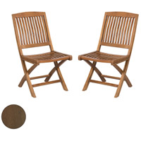 Teak Burnt Umber Outdoor Folding Game Chair