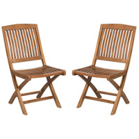 Teak Euro Teak Oil Outdoor Folding Game Chair