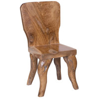 Guildmaster 6917529 Rustic Teak Natural Outdoor Dining Chair
