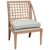 Coastal Bend Latte Mahogany Chair