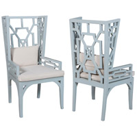 Manor Blue Wing Chairs, Set of 2
