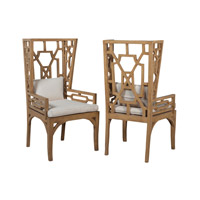 Manor Artisan Stain Wing Chairs, Set of 2