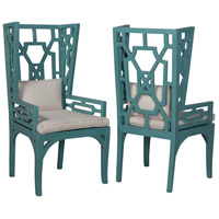 Manor Deep Teal Wing Chairs, Wing
