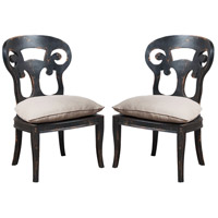 GuildMaster Verona Club Chair in Black 698000P