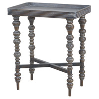 Heritage 22 X 15 inch Heritage Grey Stain Accent Table Home Decor