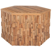 Teak Wood 30 X 30 inch Euro Teak Oil Outdoor Coffee Table