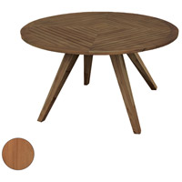 Teak Patio 60 inch Euro Teak Oil Outdoor Table, Round