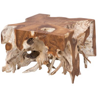 Guildmaster 7117523 Root 24 X 23 inch Natural Cocktail Table