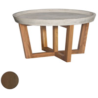 Signature 32 inch Burnt Umber Outdoor Cocktail Table, Round