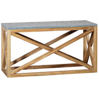 Nantucket 52 X 28 inch Euro Teak Oil Outdoor Console Table