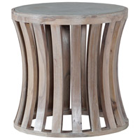 Bridgestone 20 inch Latte with Wax Outdoor Side Table