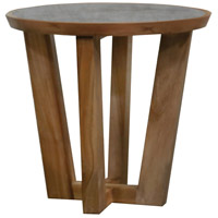 Yards 18 inch Euro Teak Oil Accent Table