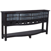 Hill Cottage 72 X 18 inch Black Credenza