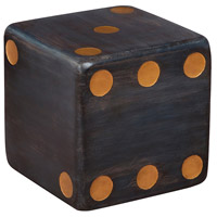 Dice 15 X 15 inch Gray Table Home Decor