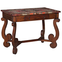 Heritage 36 X 24 inch Woodtone and Multicolor Console Table Home Decor