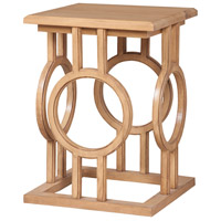 Accent Table 25 X 18 inch Blonde Accent Table