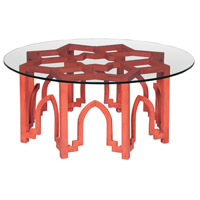 Marrakesh 40 X 40 inch Red Table Home Decor