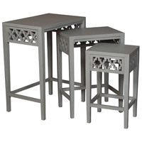 Manor 30 X 24 inch Gray Nesting Table