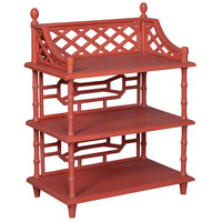 Guildmaster 714596 Manor 39 X 30 X 18 inch Manor Tangerine Spindle Shelf