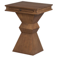 Pion 18 inch Artisan Dark Stain Accent Table