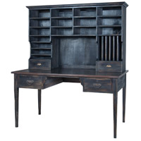 Guildmaster 715058HG-1 Heritage 60 X 32 inch Heritage Grey Stain and Ash Black Stain Library Desk